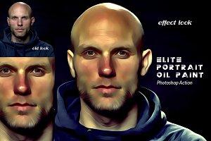 Elite Portrait Oil Paint Ps Action