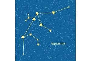 Aquarius Zodiac Sign Symbol