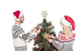 girlfriend and boyfriend in sweaters