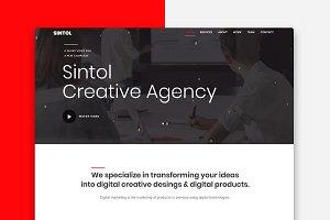 Sintol - Creative Agency Template