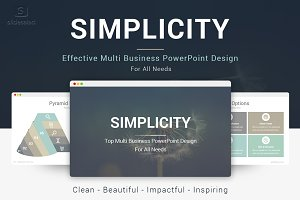 Simplicity Best PowerPoint Template