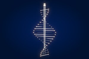 DNA Chandelier Light Fitting