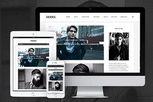 Model - Stylish Wordpress Blog theme