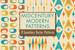 Mid-Century Modern Patterns: Design