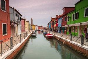 View on rio Della Guidecca canal