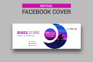 Bicycle Facebook Cover - SK