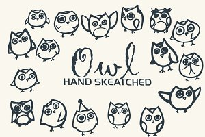Owl ClipArt - Vector & PNG