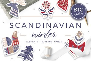 Scandinavian Winter Holiday Pack