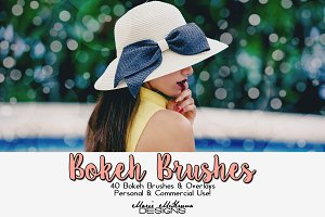 Bokeh Brushes & Overlays