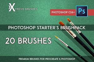 Photoshop Starters Brush Pack