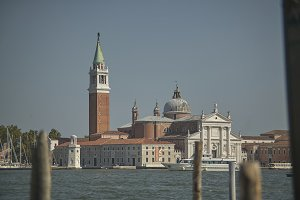The isle of Venice and its Church