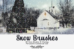Snow Brushes & Overlays