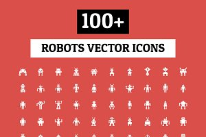 100+ Robots Vector Icons