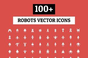 100+ Robots Vector Icons