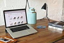 Designer's workspace - photo