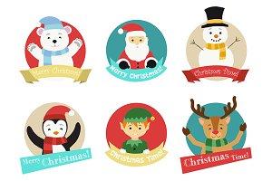 North Pole Christmas characters