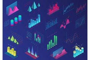 Schedule, graph, chart, diagram set
