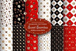 Sweet Seamless Patterns