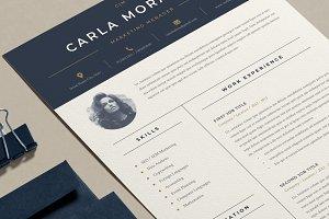 Minimal Resume Template | Carla