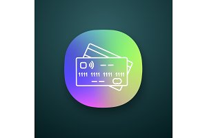 NFC credit card app icon
