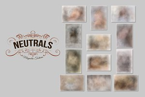 """Neutrals"" Painted Backgrounds"