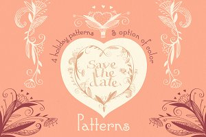 Save the date. Patterns.