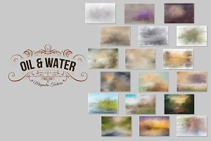 Oil & Water Background Collection