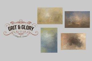 Grit & Glory Mini Background Set