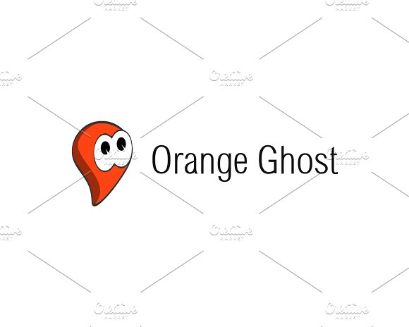 Orange Ghost Logo