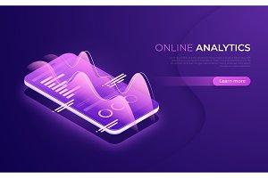 Online analytics, data analysis