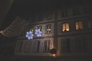 Snowflake Holiday Lights in France
