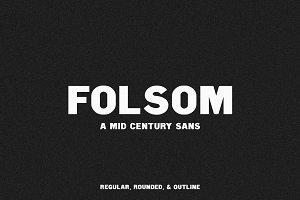 Folsom | A Mid Century Sans