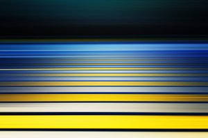 Yellow pedestrian crossing abstract
