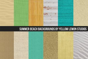 Summer beach Textured backgrounds