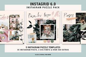 InstaGrid 6 - Instagram Puzzle Pack