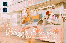 Blogger Essentials Lightroom Presets by  in Actions