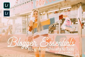 Blogger Essentials Lightroom Presets