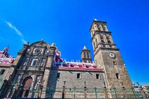 Puebla, Central cathedral