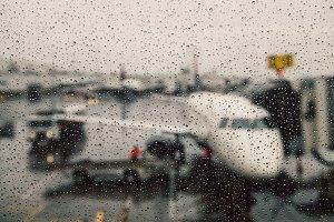 Canceled flight bad weather