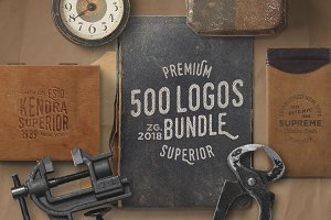 500 Logos Bundle