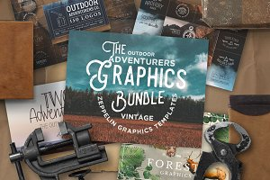 Outdoor Adventurers Graphics Bundle