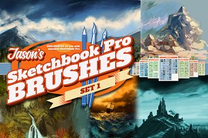 Jason's SketchBook Pro Brushes Set 1
