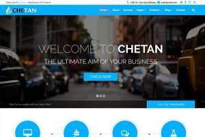 Chetan Responsive Bootstrap Theme