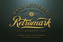 Retro Mark Script by  in Script Fonts