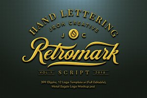 Retro Mark Script