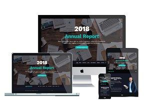 LT Report Onepage Financial website