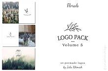 Logo Pack Volume 5. Florals