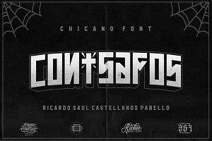 Con Safos (Chicano Font)
