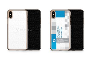 Apple iPhone Xs Max 2d PC Clear Case