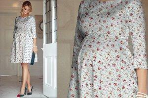 Women's Maternity Wear Mockup - 02